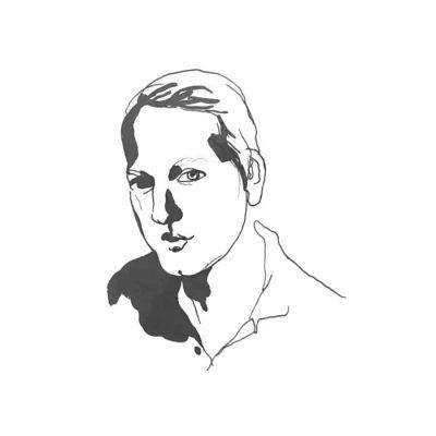 Illustration på Carl Sundevall av Stina Wirsén