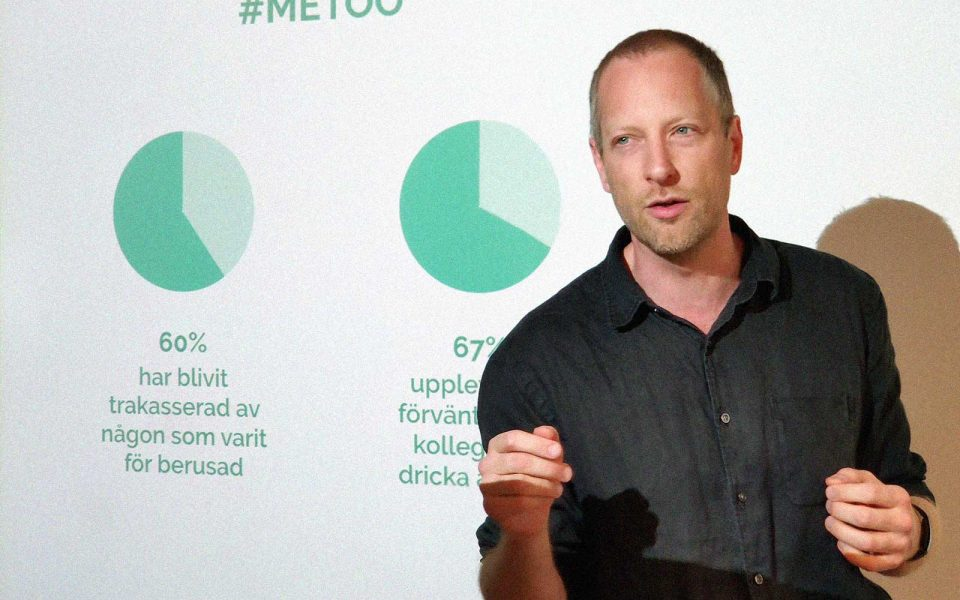 Carl Sundevall föreläser om alkohol och sexuella trakasserier